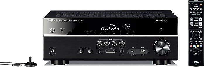 Yamaha RX-V481 Musiccast AV-Receiver (baugleich mit Yamaha HTR-4069) Black
