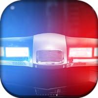 Sirena de policía luz sonido