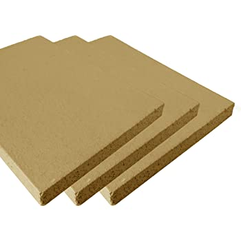 lot de 2 250 x 124 x 64 mm schamottp latte schamott pierre schamott pierre r fractaire chemin e. Black Bedroom Furniture Sets. Home Design Ideas