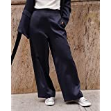 The Drop Women's @amazonthedrop Midnight Wide-Leg Pant