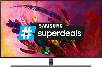 "Samsung 55"" GQ55Q7FN 4K QLED Fernseher (Q HDR 1500, Twin Tuner, Ultra Black, Smart TV)"