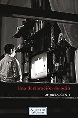 Una declaración de odio (Spanish Edition) Kindle Ausgabe