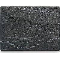 Zeller 26257 Plaque de découpe Verre de Sécurité, Gris, 40 x 30 x 0,8 cm