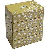 SCOTT® Facial Tissue Box 60044 - 2 ply Flat Box Facial Tissue - 4 Tissue Boxes x 100 Face Tissues - Sheet Size 15.7 x 21 cm (