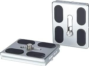 Rollei Schnellwechselplatte I 2 Stück I Metallic Grün I Kamera