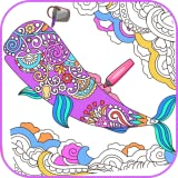 Virtual Mandala Coloring Book