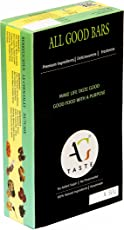 AG Taste Assorted, All Natural Energy bars (Pack of 12 bars - Le Chocolat, Berrylicious, Nutcase, Choco Tango)