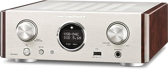 Marantz HDDAC1/N1SG Kopfhörer-Verstärker, silber/gold