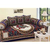 RajasthaniKart Traditional 6 Piece Diwan e-Khas - 100%Cotton