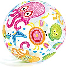 Intex Lively Print Balls - Aquarium, Multi Color