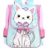 Kinder Rucksack - Jungen Mädchen Schulrucksäcke Kleinkind Schüler Tier Tasche Tagesrucksack für Grundschule Kindergarten/3-7