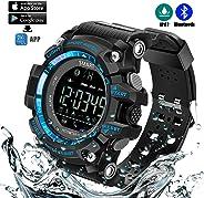 Montre de sport imperméable à l'eau intelligente de Bluetooth avec la plate-forme APP, télécommande de caméra, traqueur de f