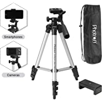 Photron STEDY 350 Tripod with Mobile Holder for Smart Phone, Compact Camera, Mobile Phone | Maximum Operating Height…