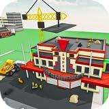 Super Market construcción nuevo edificio de construcción del juego, Supermarket Mania 3D, Centro Comercial Construcción juego