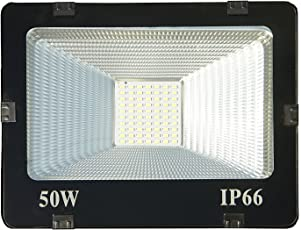 50W Led IP65 Flood Outdoor Light 1 Year Warranty - Cool Day Light