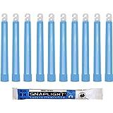 Cyalume Technologies SA8-108080AM Bâton Lumineux, Fluorescent, Durée 8 heures, 15 cm, Bleu (Boîte de 10)