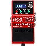 Loop Station RC-5 BOSS : un Looper compact évolué avec une qualité de son haut de gamme, 99 mémoires de phrases, 57 rythmes e
