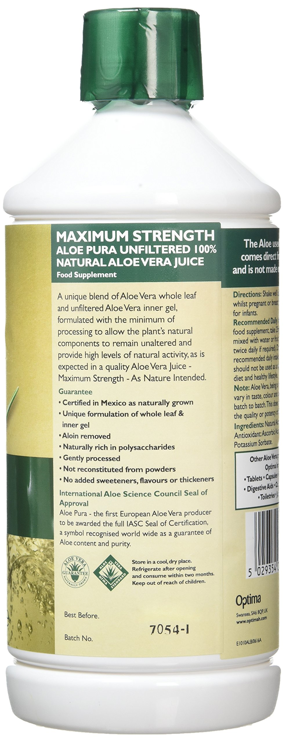 Aloe Vera Juice Max Strength - 1litre 5