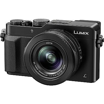 """Panasonic Lumix DMC-LX100EGK - Cámara compacta de 12.8 MP (zoom óptico de 3.1x, pantalla de 3"""", estabilizador óptico, vídeo 4K), Color Negro"""