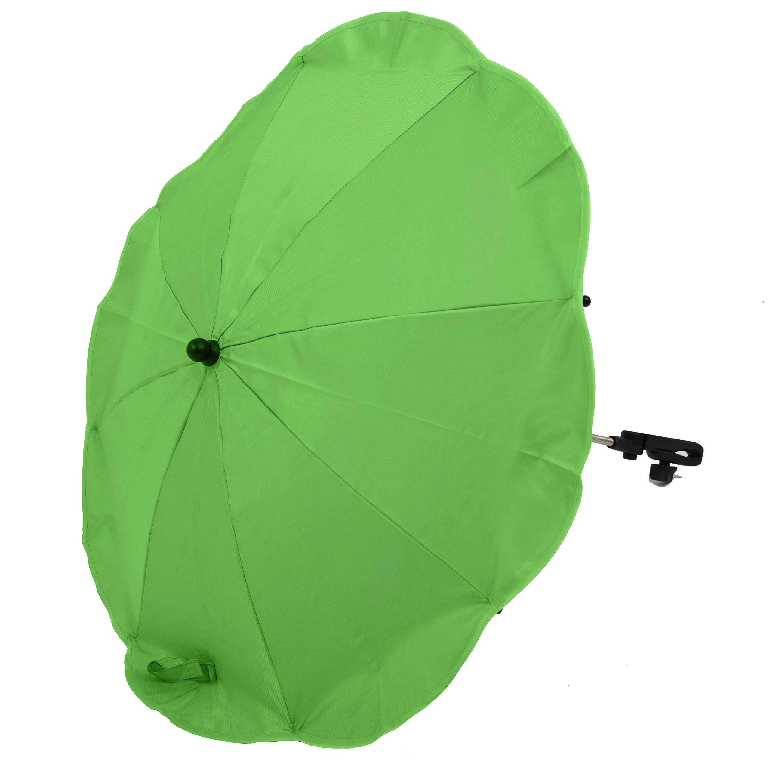 Altabebe AL7000-13 Parasole per Passeggino con Protezione Uv 50+ Universale, Green