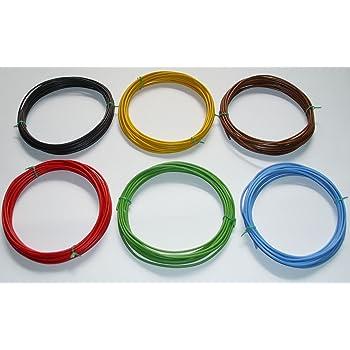 1,5mm/² Kfz Kabel Set Litze Flry 7 x 5m /€ 0,54//m w. L/ängen Siehe Beschreibung