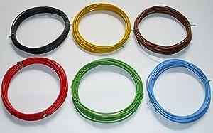Kfz Kabel Set 1 5mm 1 50mm 6 X 5m 0 60 M Litze Flry Fahrzeugleitung