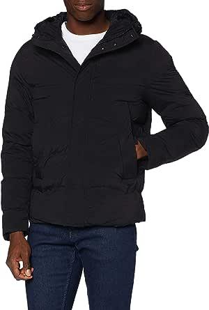 Tommy Hilfiger Men's Hooded Stretch Bomber Jacket