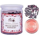 The Indian Chai - Organic Hibiscus Flower Tea 50g | Herbal Tisane | Reduces Blood Sugar |