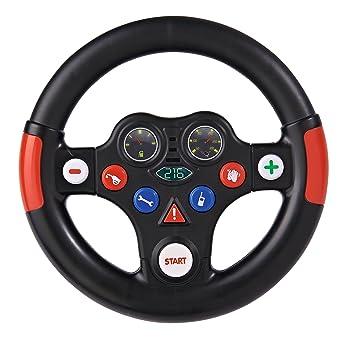 Big 56487 Bobby Cars Und Zubehör Rennsounds Wheel, Schwarz Rot ...