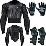 Kid's Children's Motorbike Motorcycle Randy Safety Protective Reflective Body Armor Suit with Back Protector Great for…