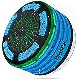 BassPal Dusche Lautsprecher, wasserdicht IPX7 Tragbare Wireless Bluetooth 4.0 Lautsprecher mit Super Bass und HD Sound, perfe