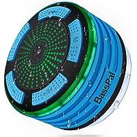 BassPal, altoparlante per doccia, IPX7 impermeabile, portatile, wireless, Bluetooth 4.0, con super bassi e suono HD…