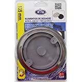 S&M 751233 Tapa completa bote sifonico inoxidable 135 mm