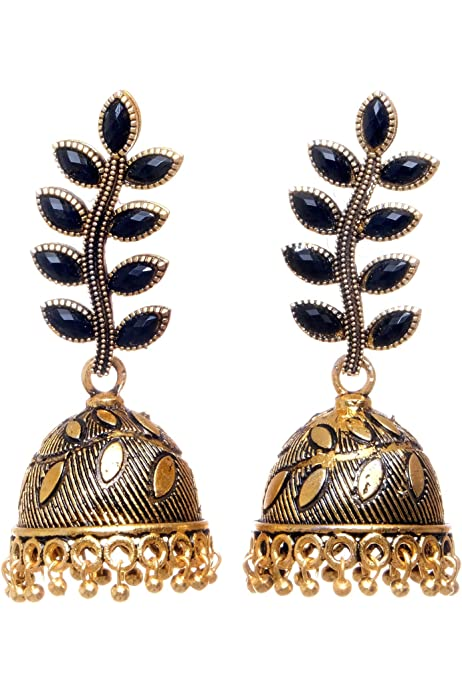 Trendy Enamel Jhumka EarringsTraditional Meenakari Indian jhumkaHandmade Jhumka Earrings.