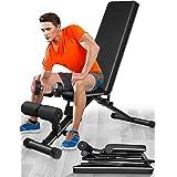 Verstelbare Halterbank, 440 lbs Capaciteit Gym Workout Bench voor Home Full Body Training Krachttrainingapparatuur