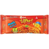 Sunfeast YiPPee! Magic Masala long, slurpy noodles | with real vegetables and nutrients | Six in One Pack, 360g Pack