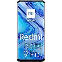 """Xiaomi Redmi Note 9 Pro Smartphone 6GB RAM 128GB ROM 6.67"""" DotDisplay 64MP AI Quad Caméra 5020mAh (typ)* NFC Blanc…"""