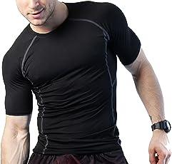 Zesteez Mens Stretchable Gym and Sports Wear Tshirt for Men   Bodyfit Skinny Tshirt for Gymming and Sports   Gymming Tshirt by