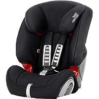 Britax Römer Kindersitz 9 Monate - 12 Jahre   9 - 36 kg   EVOLVA 123 Autositz Gruppe 1/2/3   Cosmos Black