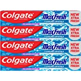 Colgate Max Fresh Cool Mint Gel Toothpaste – 4 x 75ml