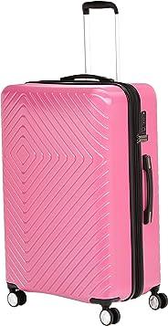 AmazonBasics - Trolley, mit geometrischem Muster, 78cm, Rosa