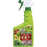 COMPO Tripla Azione PFnPO, Insetticida-Fungicida-Acaricida pronto all'uso, Per Piante Ornamentali e da Fiore di Tipo…