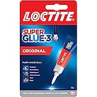 Loctite Super Glue-3 Original, colle forte et résistante de haute qualité, colle liquide tous matériaux, colle…