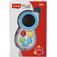 Luvlap - 18551 Interactive Music Phone for Baby, Multicolor