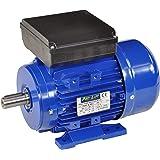 Pro-Lift-Werkzeuge 1-Phasen Drehstrommotor 1,1 kW 230 V Elektromotor 1410 U/min Industriemotor electric motor B3 Drehstrom 1100W