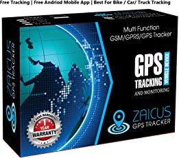 ZAICUS 4 band car GPS tracker GT02A Google Link Real Time tracking life time Free Tracking