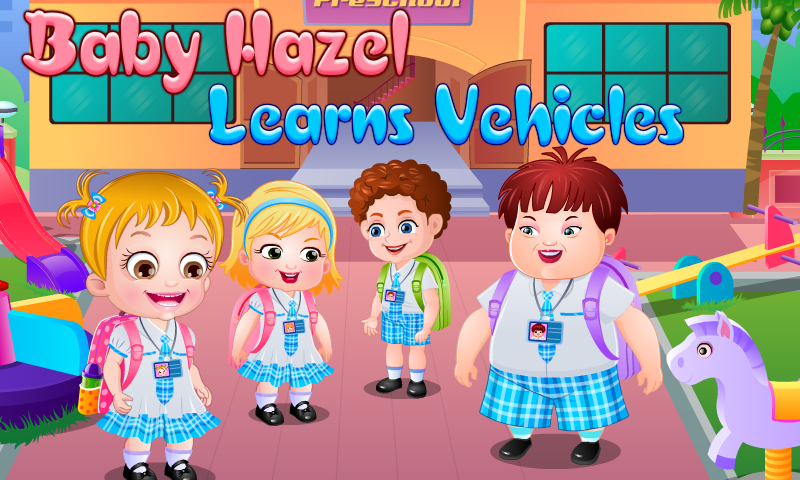 Baby Hazel Learns Shapes - babyhazelgames.com