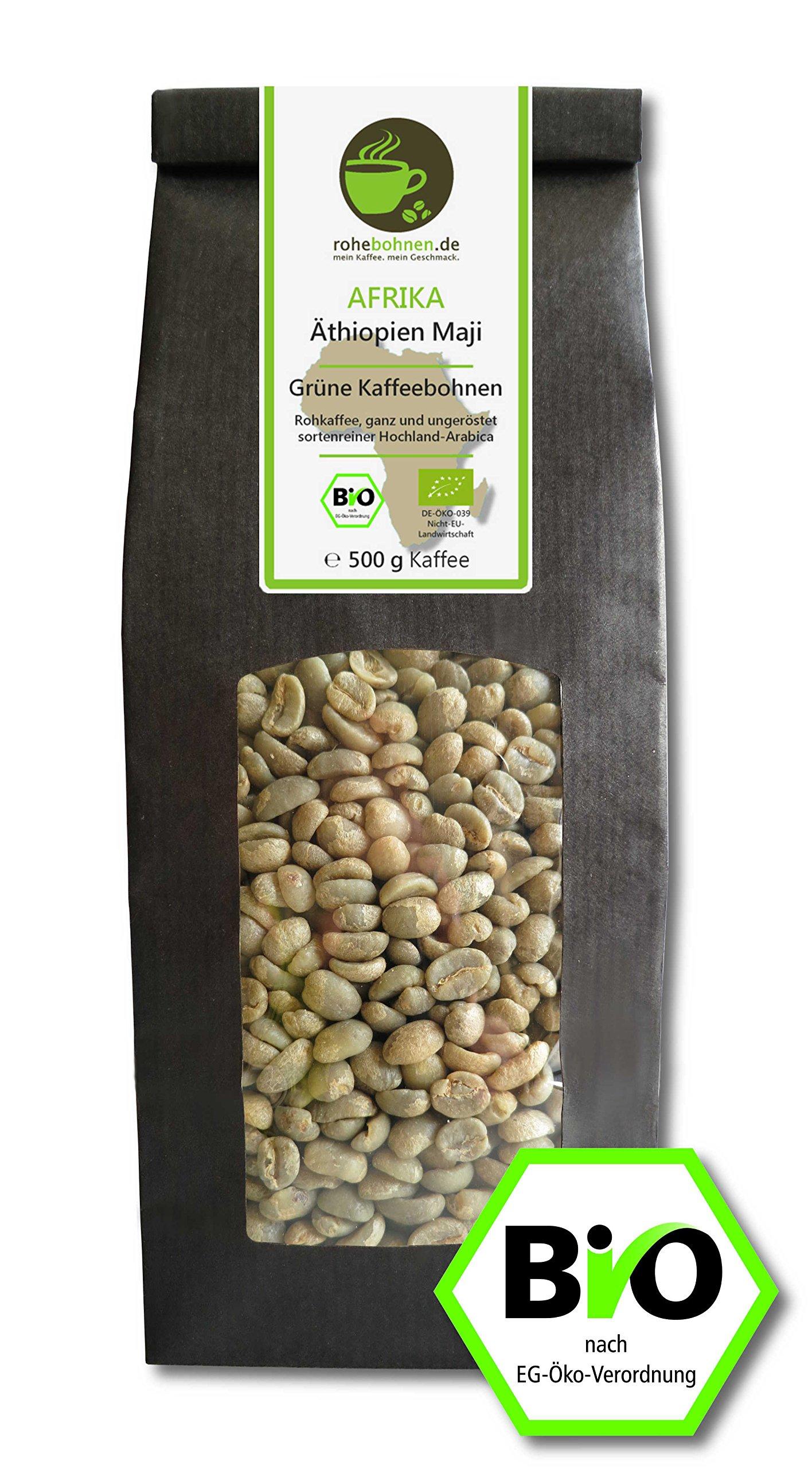 Organic-green-coffee-beans-Arabica-Ethiopia-Maji