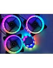 Volted Mods 3X 120mm ARGB Fan kit with Remote and Controller (Free Magnetic RGB Strip)