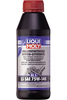 Liqui Moly 4x 1410 Hypoid Getriebeöl Gl5 Ls Sae 85w 90 1l Auto